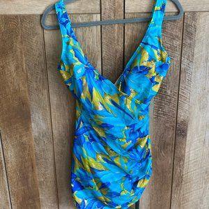 Size 14 One Piece Swim Suit by Beach Bay